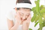 wasser美容液で洗顔する日本人