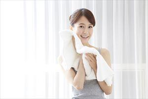 ウルタス薬用クレンジングバームで洗顔後の主婦